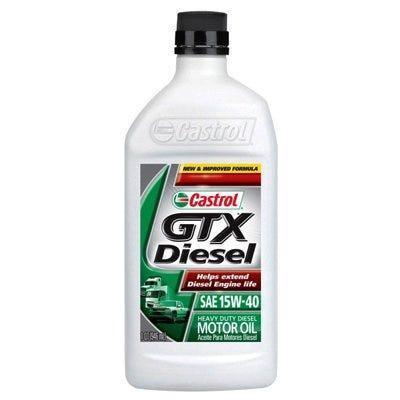 GTX 15W-40 Diesel Motor Oil, 1-Qt.