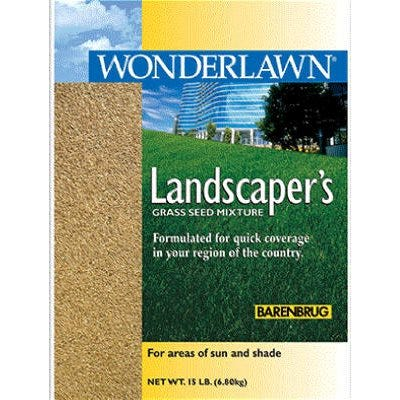 Wonderlawn Landscaper All-Purpose Grass Seed Mix, 15-Lbs., Covers 3,000 Sq. Ft.