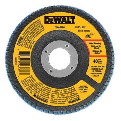 Zirconia T29 Flap Disc, 80-Grit, 4.5 x 7/8-In.