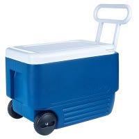 Wheelie Cool Cooler, Holds 53 Cans, 38-Qt.