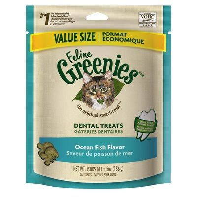 Image of Cat Dental Treats, Ocean Fish, 6-oz.