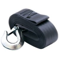 Winch Strap With Hook, 2-In. x 20-Ft.