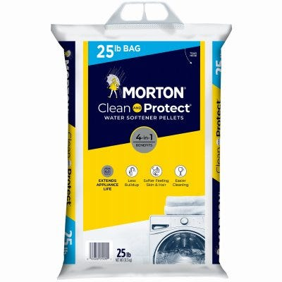 Clean & Protect Water Softening Pellets, 25-Lbs.