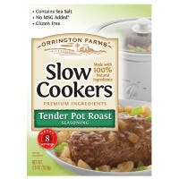 Slow Cookers Tender Pot Roast Mix, 2.5-oz.