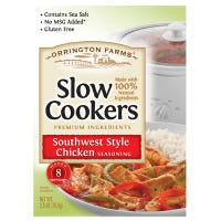 Slow Cookers Southwest Style Chicken Mix, 2.5-oz.