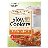 Slow Cookers BBQ Pork Roast Mix, 2.5-oz.