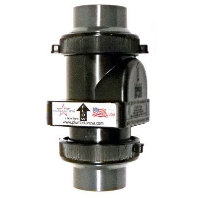 Sewage Check Valve, 1-1/2-In.