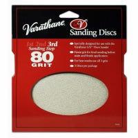 Sanding Discs, For Varathane EZV Floor Sander, 80-Grit, 3-Pk.