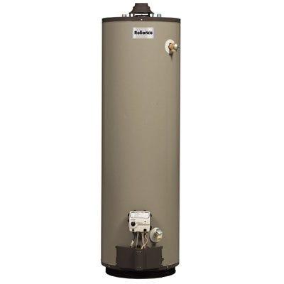 Water Heater, Gas, 40,000 BTU, 50-Gals.