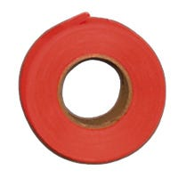 Flagging Tape, Fluorescent Orange, 1-In. x 150-Ft.