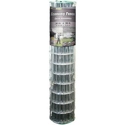Galvanized Welded Wire Fence, 36-In. x 50-Ft.