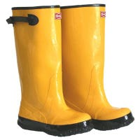 17-In. Waterproof Yellow Boots, Size 12