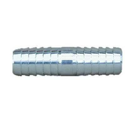 Pipe Fitting, Insert Coupling, Galvanized Steel, 2-In.