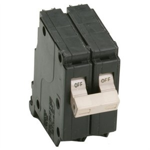 Image of Circuit Breaker, Double Pole, 15-Amp