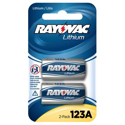 Image of Lithium Battery, CR123A, 2-Pk.