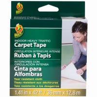 Cloth Carpet Tape, Indoor, 1.41-In. x 42-Ft.