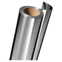 Radiant Barrier Insulation, Aluminum Film, 125-Ft.