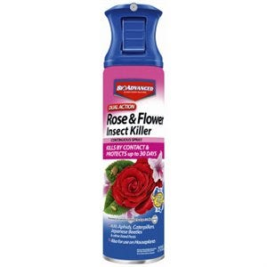 BioAdvanced Rose & Flower Insect Killer Spray, Dual-Action, 15-oz.