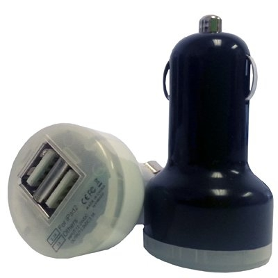 Image of Dual USB Cigarette-Outlet Charger