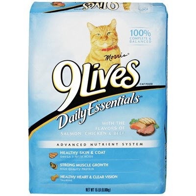 Image of Daily Essentials Cat Food, Dry, 20 lb