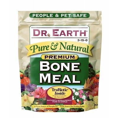 Image of Bone Meal Organic Fertilizer, 3-15-0, 2.5-Lb. Box