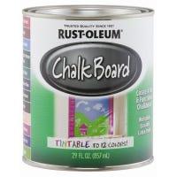 Rust-Oleum Tintable Chalkboard Latex Paint, Qt.