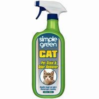 Pet Stain & Odor Remover, Cat Formula, 32-oz. Spray