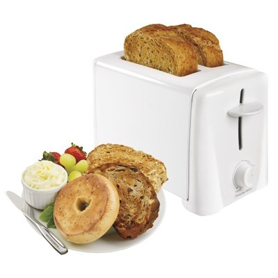 Image of 2-Slice Toaster, White