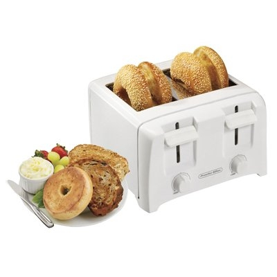 Image of 4-Slice Toaster, White