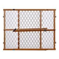 Portable Gate, Diamond Mesh, 26.5-42 x 23-In.