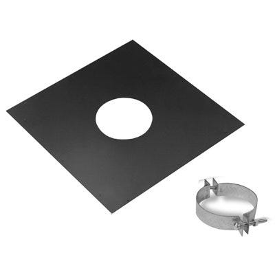 Pellet Pipe Vent Support, 4-In.