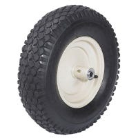 Wheelbarrow Tire, Knobby, 4-Ply, 16-In.