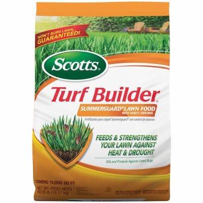 Turf Builder Fertilizer with Summerguard, 20-0-8 Formula, Covers 15,000-Sq.-Ft.