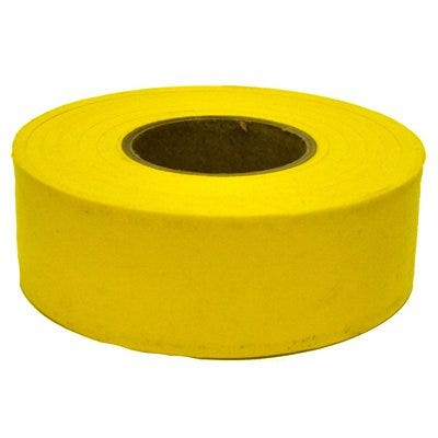 Yellow Flagging Tape,300-Ft.