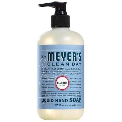 Liquid Hand Soap, Blue Bell, 12.5-oz.