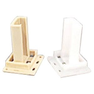 2-Piece Plastic Mobile Home Guide Rear Drawer Socket