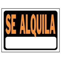 Se Alquila Sign, Spanish, 8.5 x 12-In.