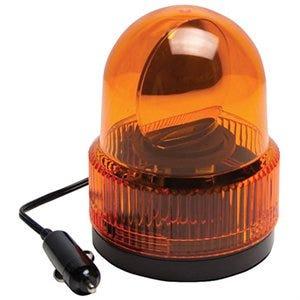 Auto Beacon Light, Rotating, Amber, 12-Volt DC