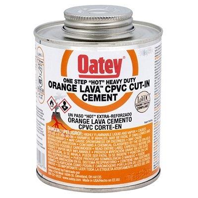 Image of Lava CPVC Cement, Orange, 8-oz.