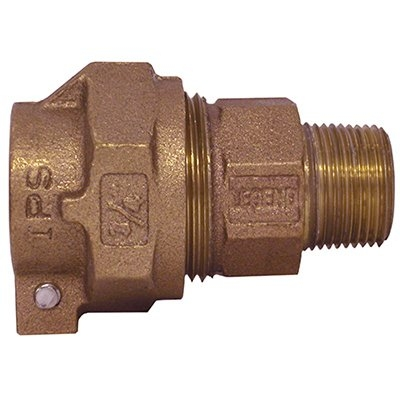Image of Water Service Coupling, Lead-Free, IPS PAK x MIP, 3/4-In.