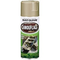 Specialty Spray Paint, Camouflage Sand, 12-oz.