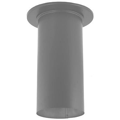 Durablack Stove Pipe Slip Connector, 6 x 14-In.