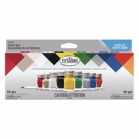 Acrylic Craft Paint Set, 9-Color