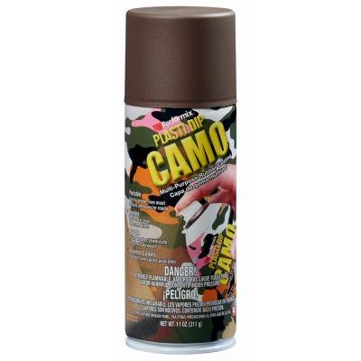 Multi Purpose Rubber Coating, Camo Brown, 11-oz.