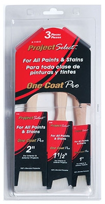 Image of Pro Brush Set, 1-Coat, 3-Pc.