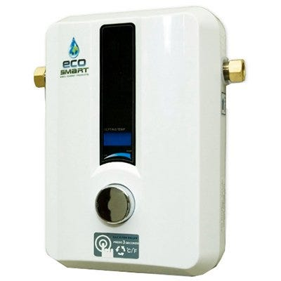 Tankless Water Heater, Electric, 11-kW