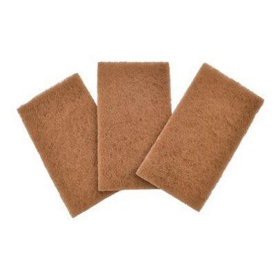 Walnut Scour Pad, 5-1/2 x 3-In., 3-Pk.