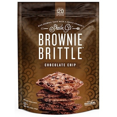Image of Chocolate Chip Brownie Brittle, 5-oz.