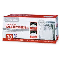 Tall Kitchen Trash Bags, 38-Ct., 13-Gallons