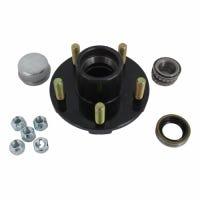 5-Bolt Trailer Axle Hub Kit, 1,250-Lb. Capacity For BT16 Spindle